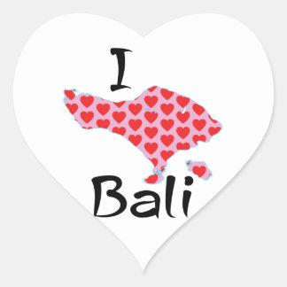 Adesivo Coração Mim coração Bali