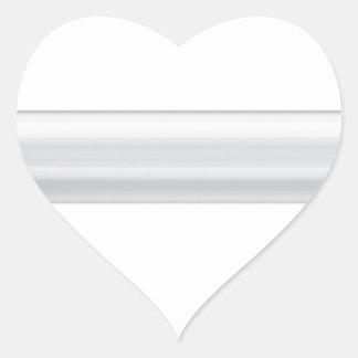 Adesivo Coração Míssil de cruzeiro