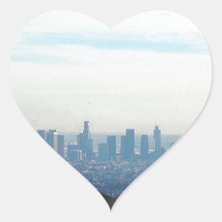 Adesivo Coração Montanha quadro LA