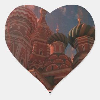 Adesivo Coração Moscow_russia