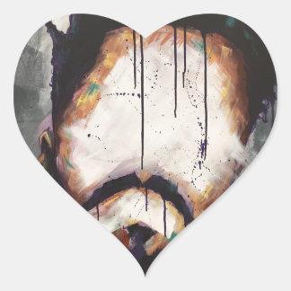 Adesivo Coração NaturallyVII