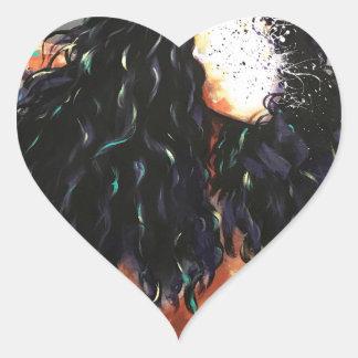 Adesivo Coração Naturalmente XV