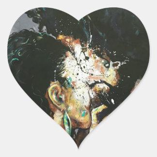 Adesivo Coração Naturalmente XXIV