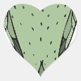 Adesivo Coração nenhum pássaro principal