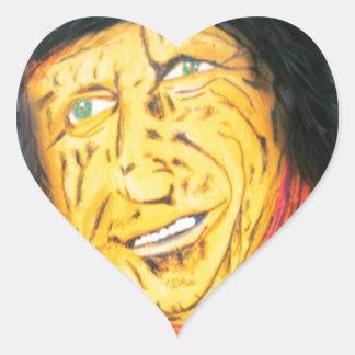 Adesivo Coração O balancim Wrinkly