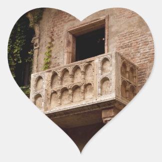 Adesivo Coração O balcão de Juliet