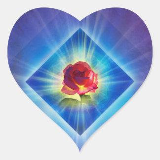 Adesivo Coração O dia da remissão H053 aumentou