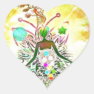 Adesivo Coração O mágico