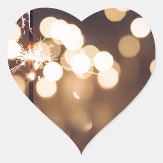 Adesivo Coração O melhor presente de aniversário