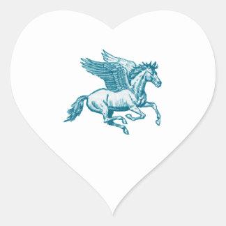 Adesivo Coração O mito grego