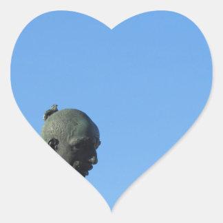 Adesivo Coração O monumento Quattro Mori (dos quatro amarra)