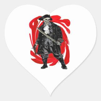 Adesivo Coração Os homens inoperantes não dizem nenhum conto