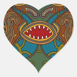 Adesivo Coração Os oásis