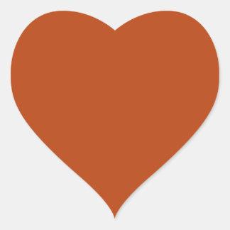 Adesivo Coração Oxidação