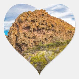 Adesivo Coração Paisagem Patagonian, Argentina