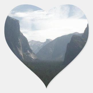 Adesivo Coração Parque nacional de Yosemite