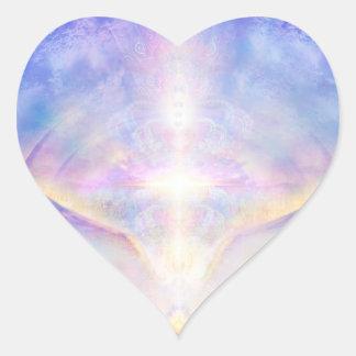 Adesivo Coração Parte superior do anjo de H117 Adele