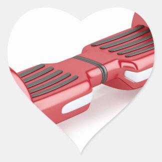 Adesivo Coração Patinete deequilíbrio vermelho
