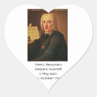 Adesivo Coração Pietro Alessandro Gaspare Scarlatti