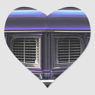 Adesivo Coração Plymouth 1971 'Cuda