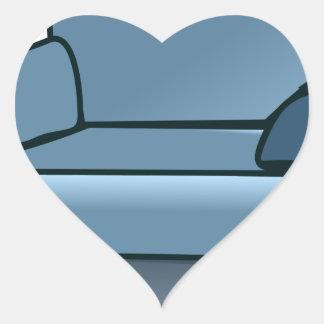 Adesivo Coração Poltrona