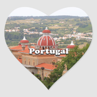 Adesivo Coração Portugal: Palácio de Monserrate, perto de Sintra