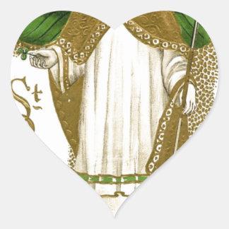 Adesivo Coração Poster velho bonito de patrick de santo