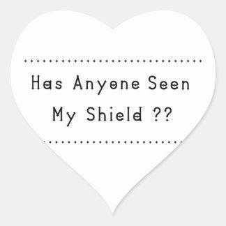 Adesivo Coração Protetor