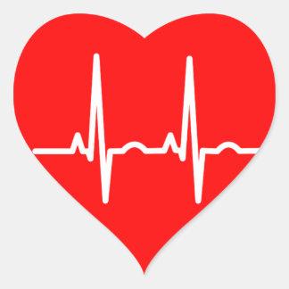 Adesivo Coração Pulsação do coração