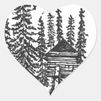 Adesivo Coração Quando você precisar um bocado da casa