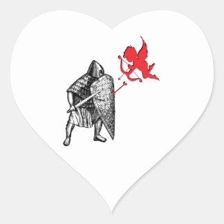 Adesivo Coração Questiúncula do amor