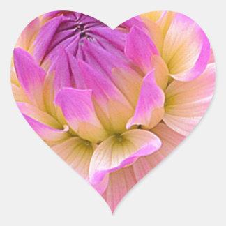 Adesivo Coração Roxo agradável