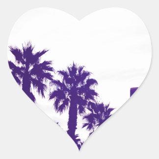 Adesivo Coração Roxo de San Diego