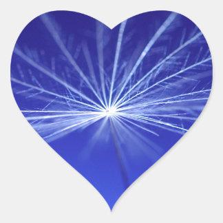 Adesivo Coração Semente de Dandilion