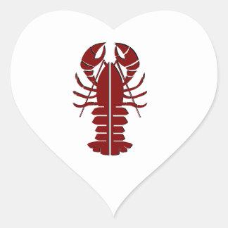 Adesivo Coração Sensação marinha