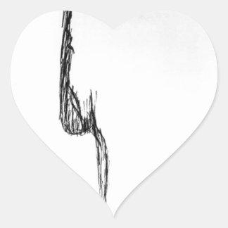 Adesivo Coração Sentimento puro