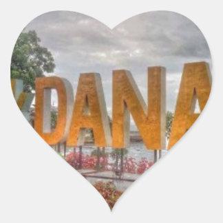 Adesivo Coração Siglakdanao na cidade do danao