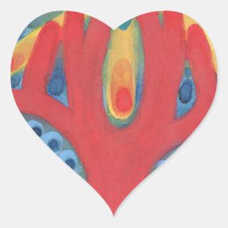 Adesivo Coração Simbiose