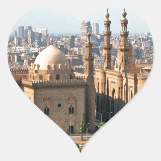 Adesivo Coração Skyline de Cario Egipto
