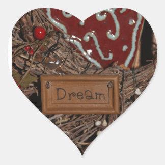 Adesivo Coração Sonho