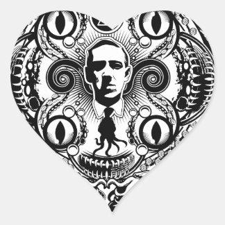 Adesivo Coração Sonhos de Lovecraftian