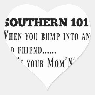 Adesivo Coração Southern101-1