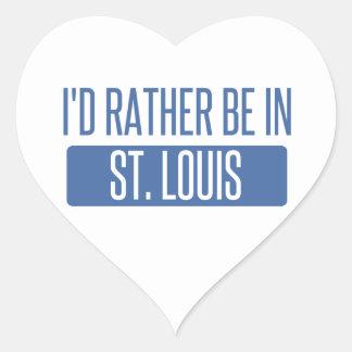 Adesivo Coração St Louis