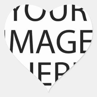 Adesivo Coração Sua imagem aqui