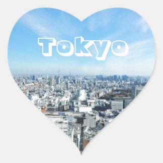Adesivo Coração Tokyo, Japão