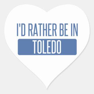 Adesivo Coração Toledo