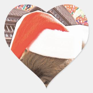 Adesivo Coração Tudo que eu quero para o Natal é você