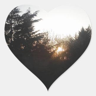 Adesivo Coração Último bocado da energia