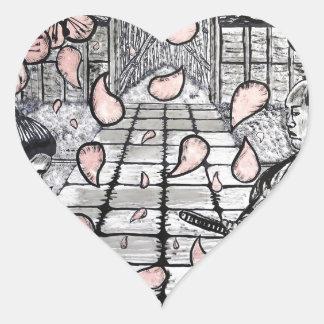 Adesivo Coração Um desenhar por Carter L. Shepard