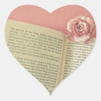 Adesivo Coração Uma história